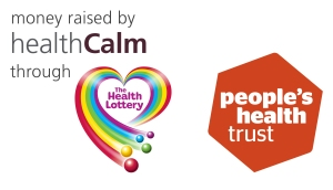 HealthCalm and Peoples Health Trust Logo